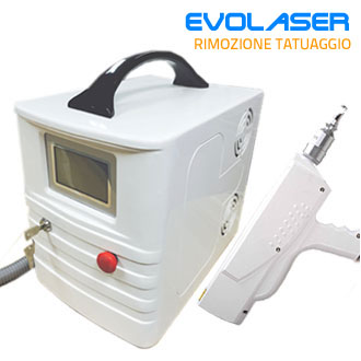 Evo Laser Q-Switched ND:Yag 532/1064 Portatile